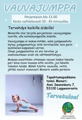 Vauvajumppa png